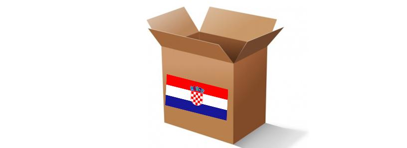 envío de paquetes a croacia
