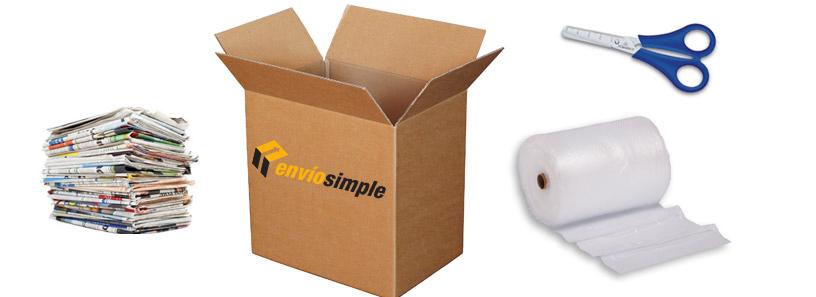 ¿Cómo hacwer un paquete para enviar?