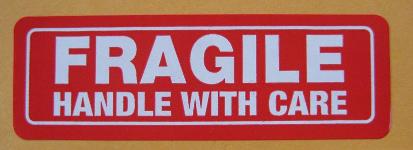 envio paquete frágil