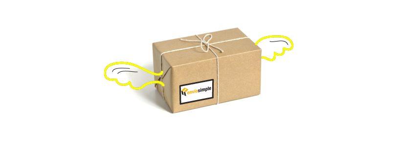 enviar paquete urgente