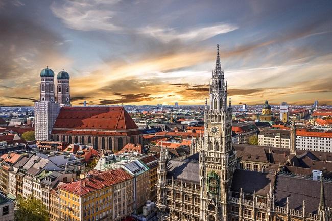 Enviar un paquete a Múnich