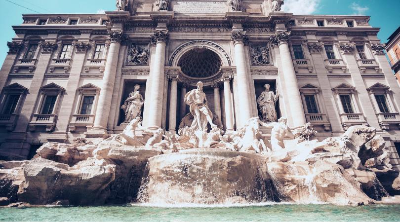 envío de mensajería a Roma