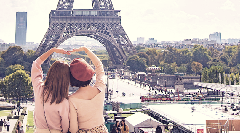 Envío de mensajería a París
